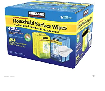 Kirkland 3 Jumbo Household Surface Cleans and Disinfects Wipes - Wipes Out 99