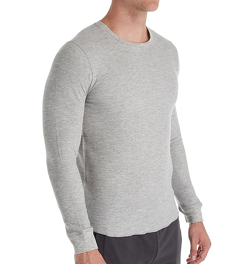 Bread and Boxers Men's Long Sleeve Thermal Crew Shirt (BNBUS336)
