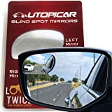 Blind Spot Mirrors. Unique design Car Door mirrors / Mirror for blind side engineered by Utopicar for larger image and traffi