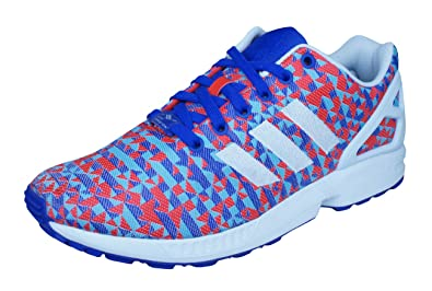 a la deriva Fértil Interesante  adidas Originals Women's Zx Flux Trainers Multi-Coloured Size: 7 ...