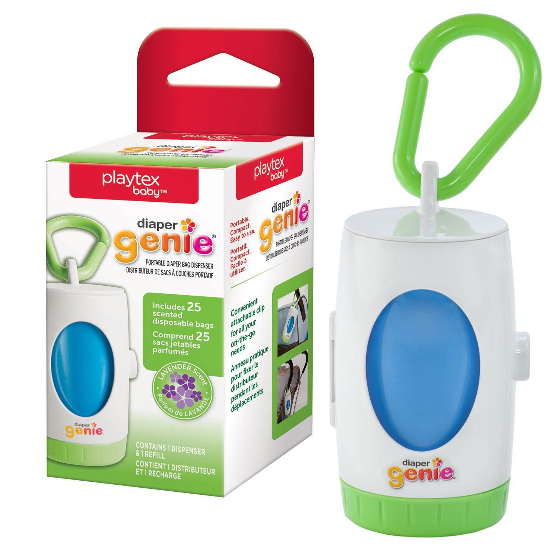 Playtex Baby Diaper Genie Portable Diaper Pail Bag Dispenser 10078300400698