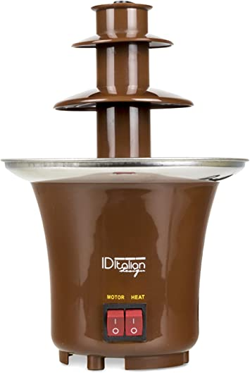 Italian Design IDECUSWEET01 CHOCOLATE FOUNTAIN 65, 65w-IDECUSWEET01, Marron: Amazon.es: Hogar