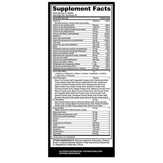 Amazon.com: Optimum Nutrition - Complemento de Multivitamina ...