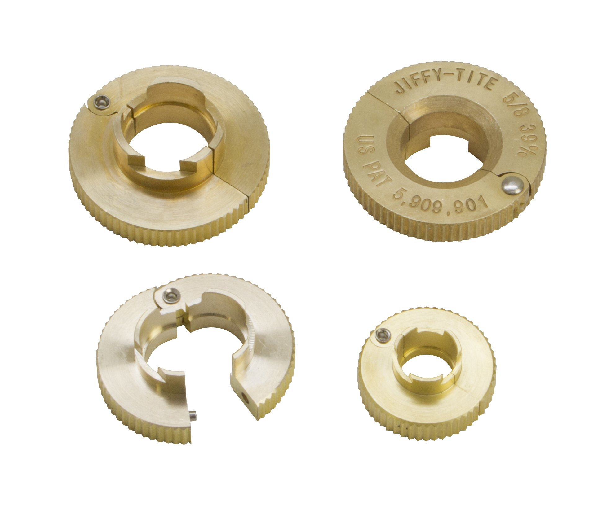 Lisle 22990 Jiffy-Tite 4-Piece Low Profile Disconnect Set
