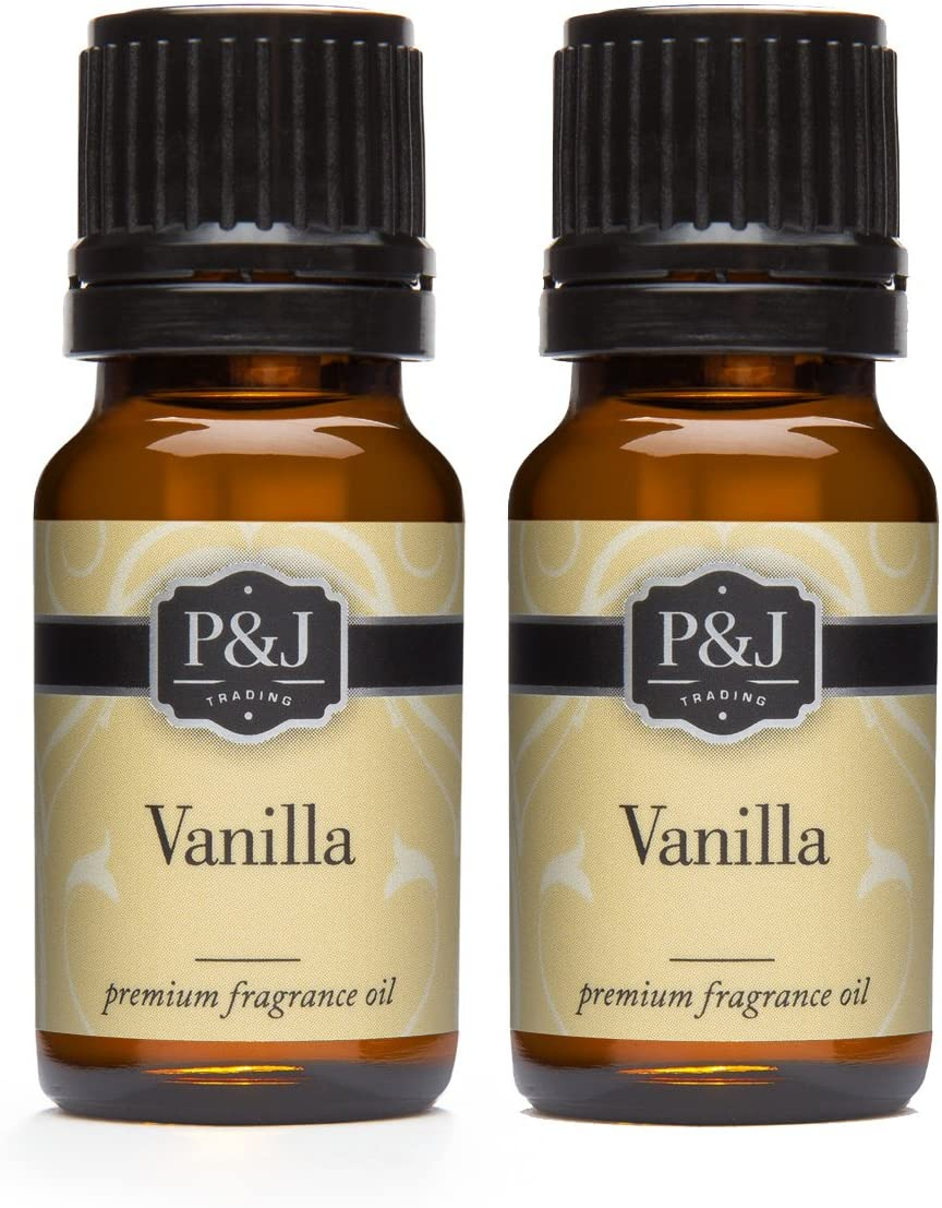 Vanilla Fragrance Oil - Premium Grade Scented Oil - 10ml - 2-Pack