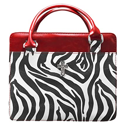 Zebra Print Purse Style Bible Book Cover Wcross Large