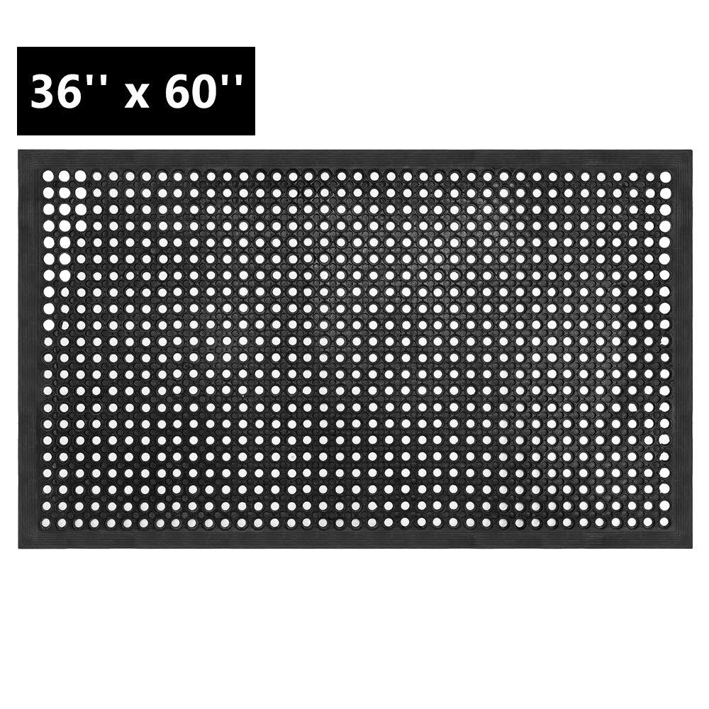 ROVSUN Rubber Floor Mat, 36