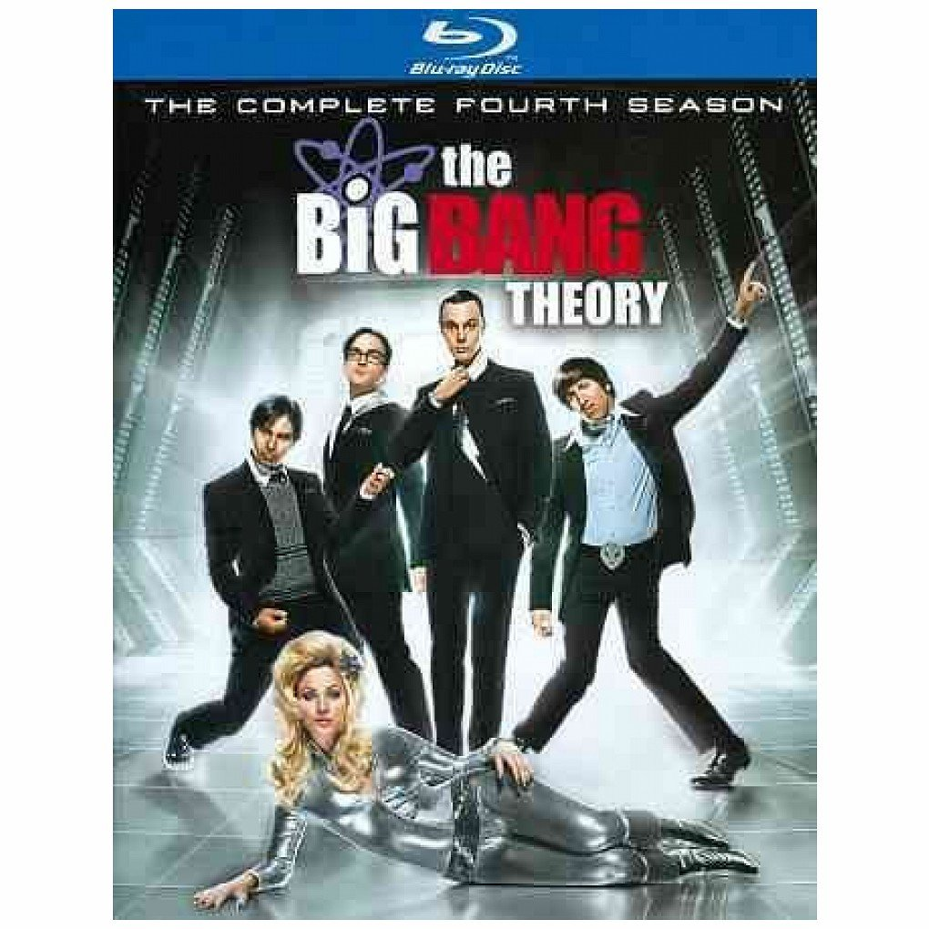 The Big Bang Theory: The Complete Fourth Season (Blu-ray/WS) Kaley Cuoco, Jim Parsons, Johnny Galecki, Simon Helberg, Kunal Nayyar
