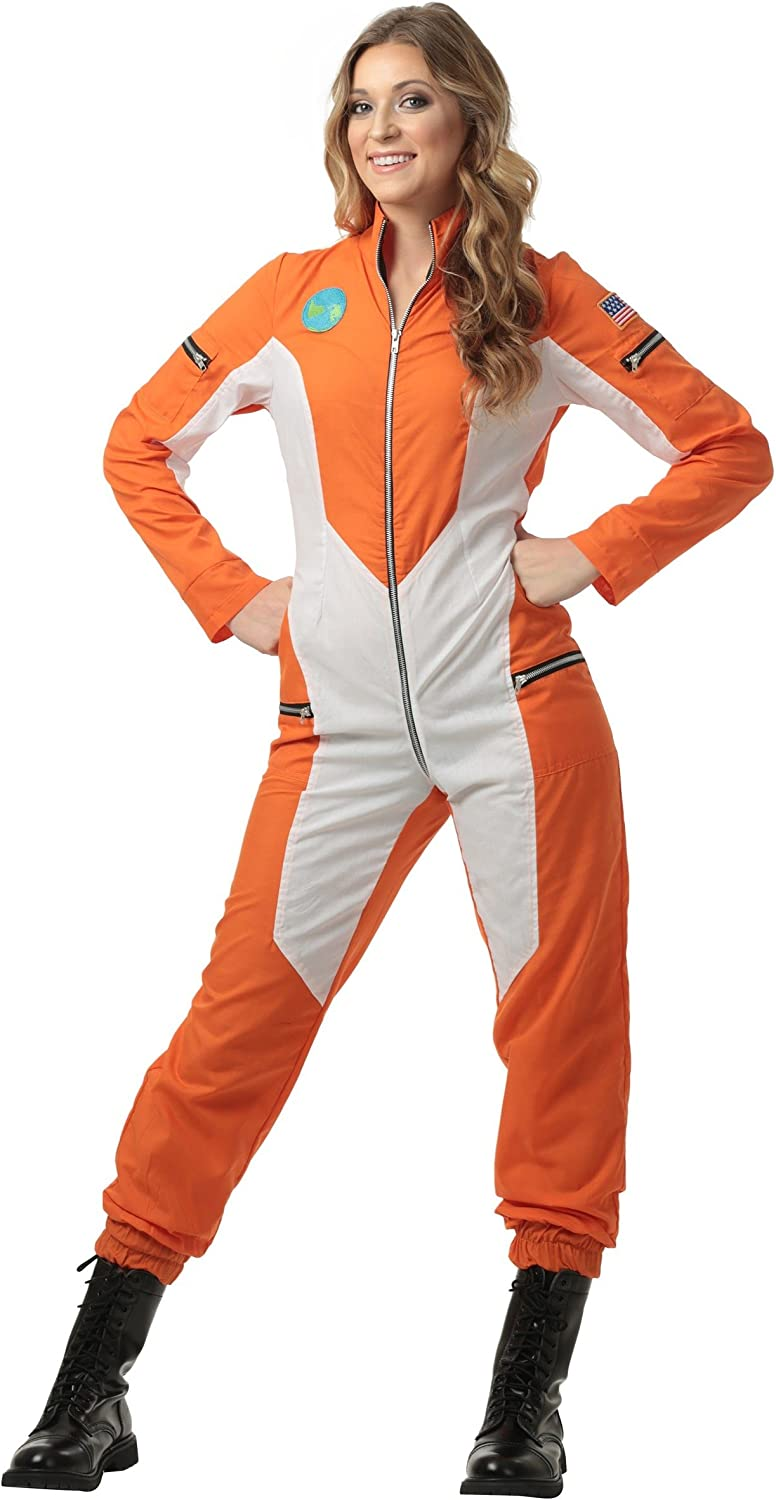 Women's Astronaut Jumpsuit Costume
