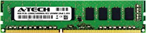 A-Tech 4GB for DELL PowerEdge T110 II (1 x 4GB) PC3-12800 (DDR3-1600) ECC Unbuffered UDIMM 240-Pin 1Rx8 1.35V Server Memory RAM