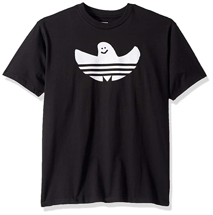 adidas Originals Men's Skate Shmoo Tee, black/White, Medium