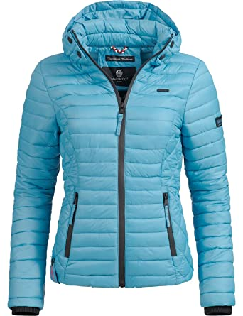 Marikoo Damen Übergangs-Jacke Steppjacke Samtpfote 23 Farben XS-XXL  Amazon. de  Bekleidung 8c5653ddbb