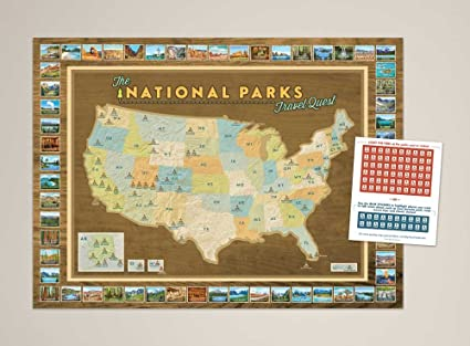 Amazon national parks travel quest poster posters prints national parks travel quest poster gumiabroncs Image collections