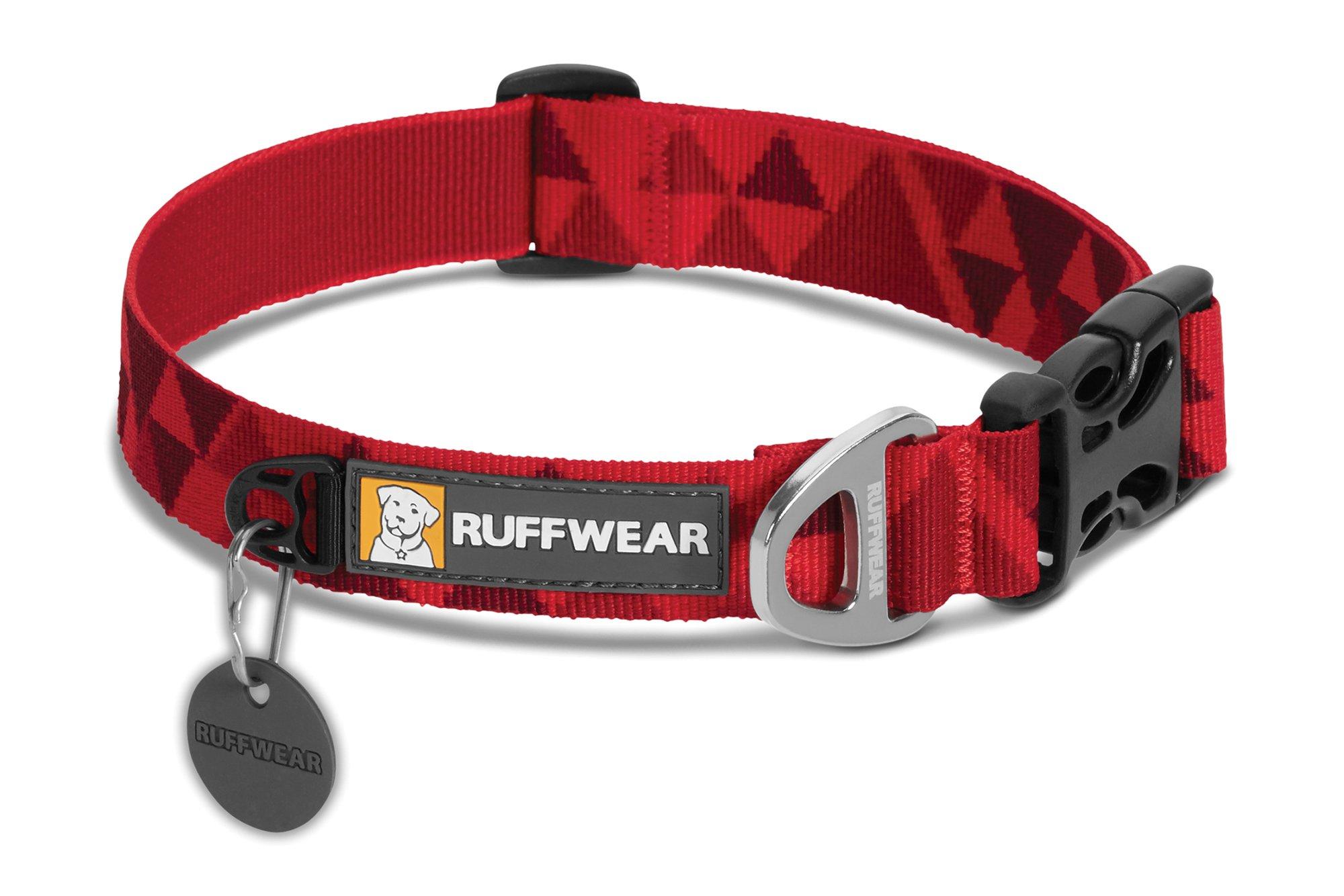 RUFFWEAR - Hoopie Dog Collar, Red Butte, Medium