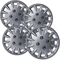 $26 » Hubcaps 13 inch Wheel Covers - (Set of 4) Hub Caps for 13in Wheels Rim Cover - Car…