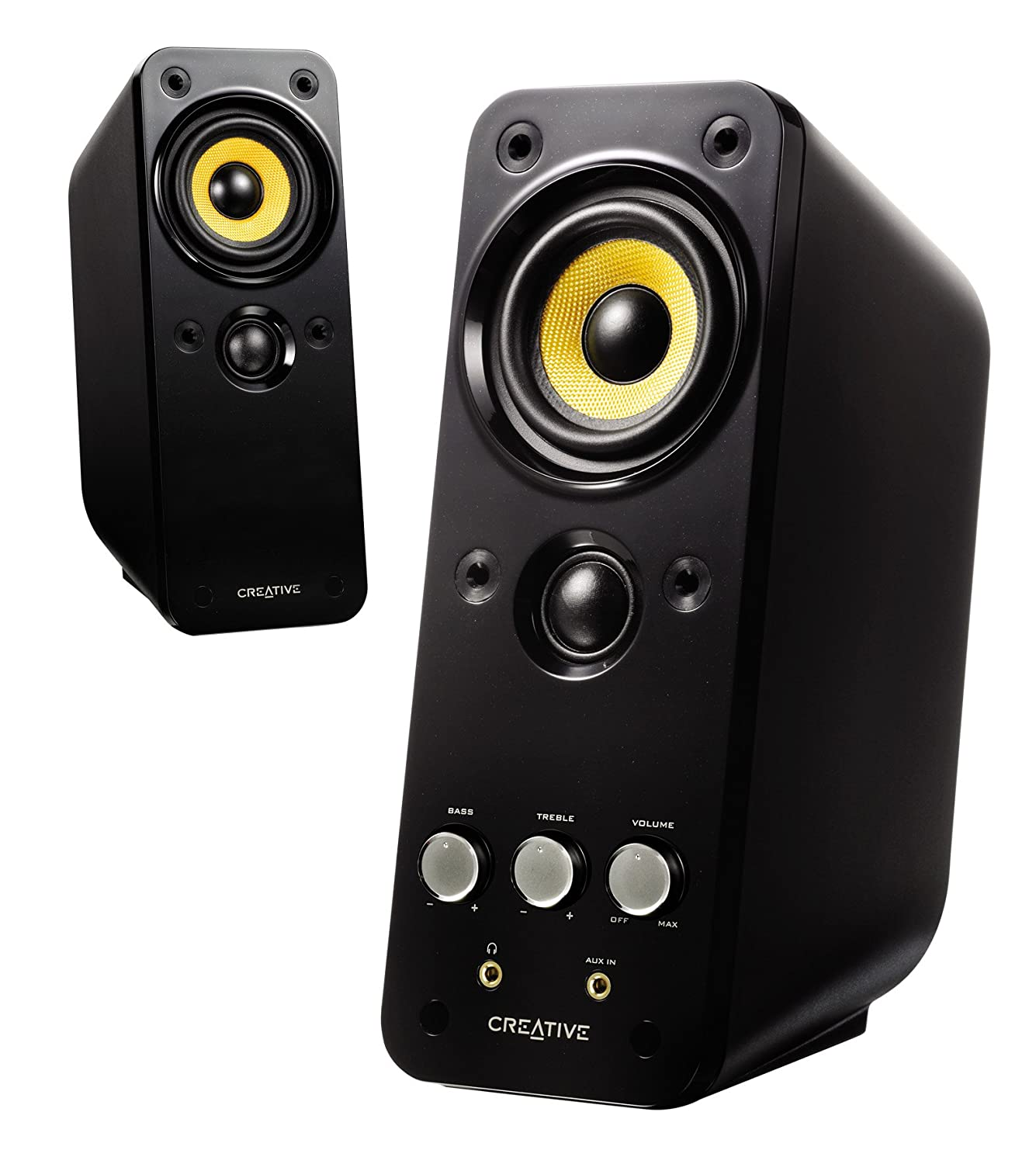 2.0 Multimedia Speakers with BasXPort Technology Creative GigaWorks T20 Series II