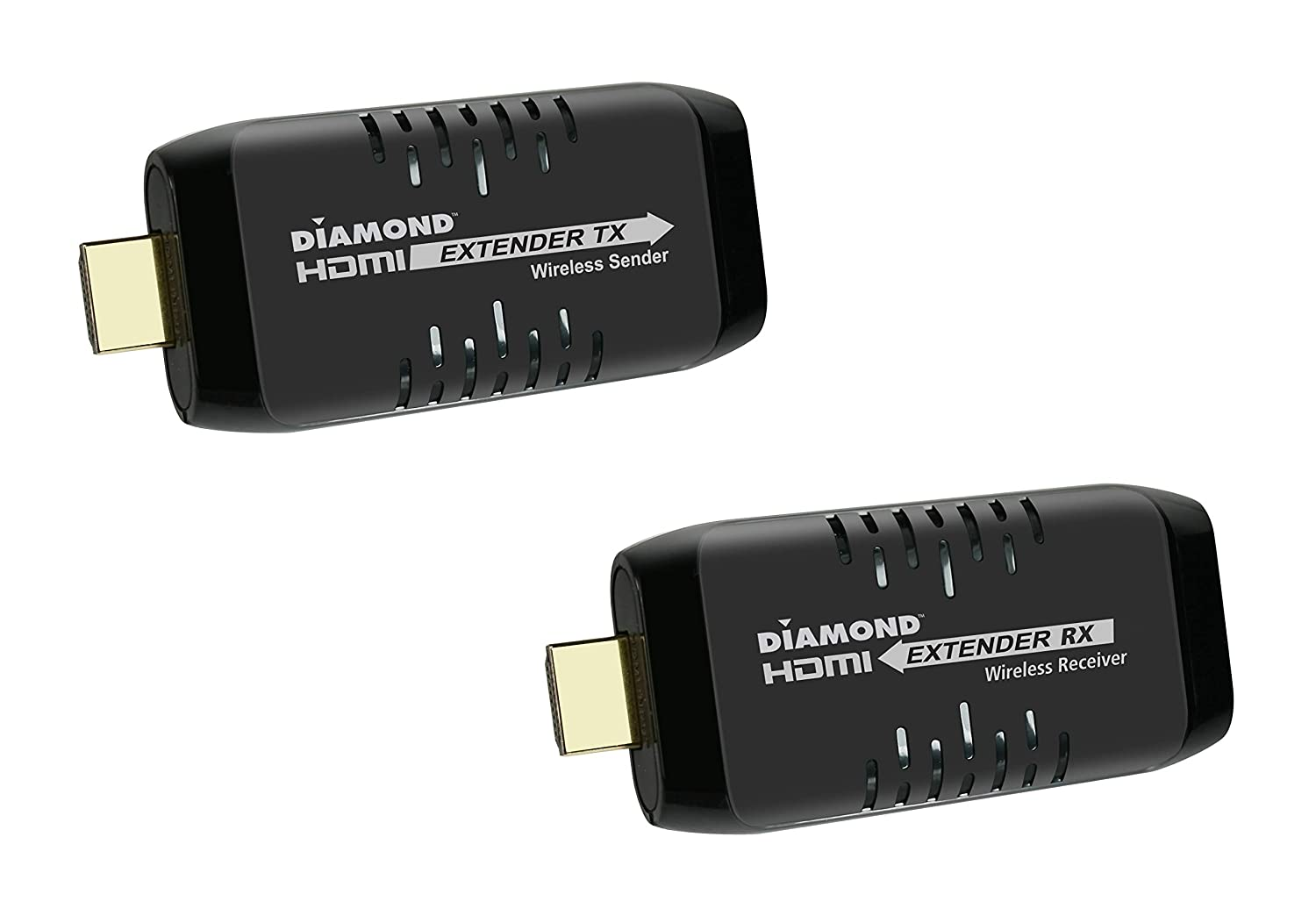 Diamond Multimedia Wireless HDMI USB Powered Extender Kit, TV Transmitter & Receiver for HD 1080p, Stream Video and Audio from: Laptops, PC, Cable Box, Satellite Box, Blu-ray, DVD, PS4, Xbox (VS50)