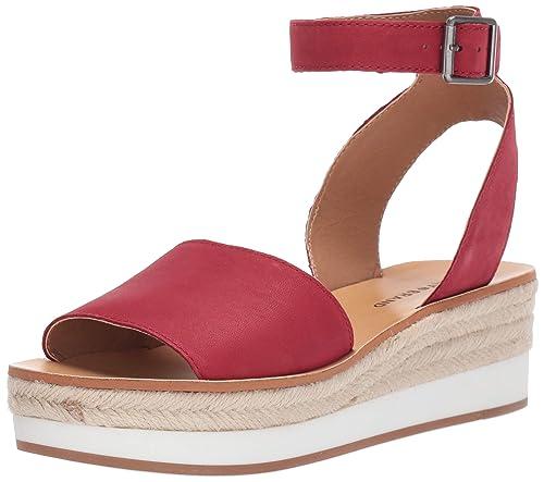 f88c98c2d6a Lucky Brand Womens Joodith Wedge Espadrille Wedge Sandal: Amazon.ca ...