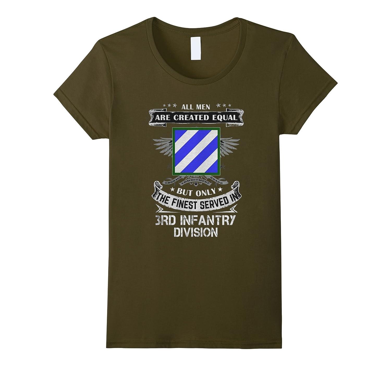 Finest Served Infantry Division Tshirt-Tovacu