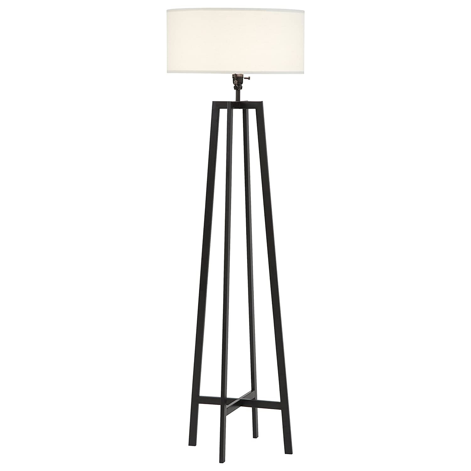 Amazon white floor lamps lamps shades tools - Stone Beam Deco Black Metal Floor Lamp 59 5 H With Bulb