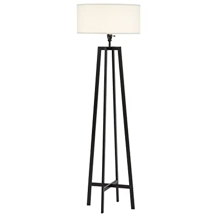 Stone beam deco black metal floor lamp 595 h with bulb white stone beam deco black metal floor lamp 595quot h with bulb aloadofball Image collections