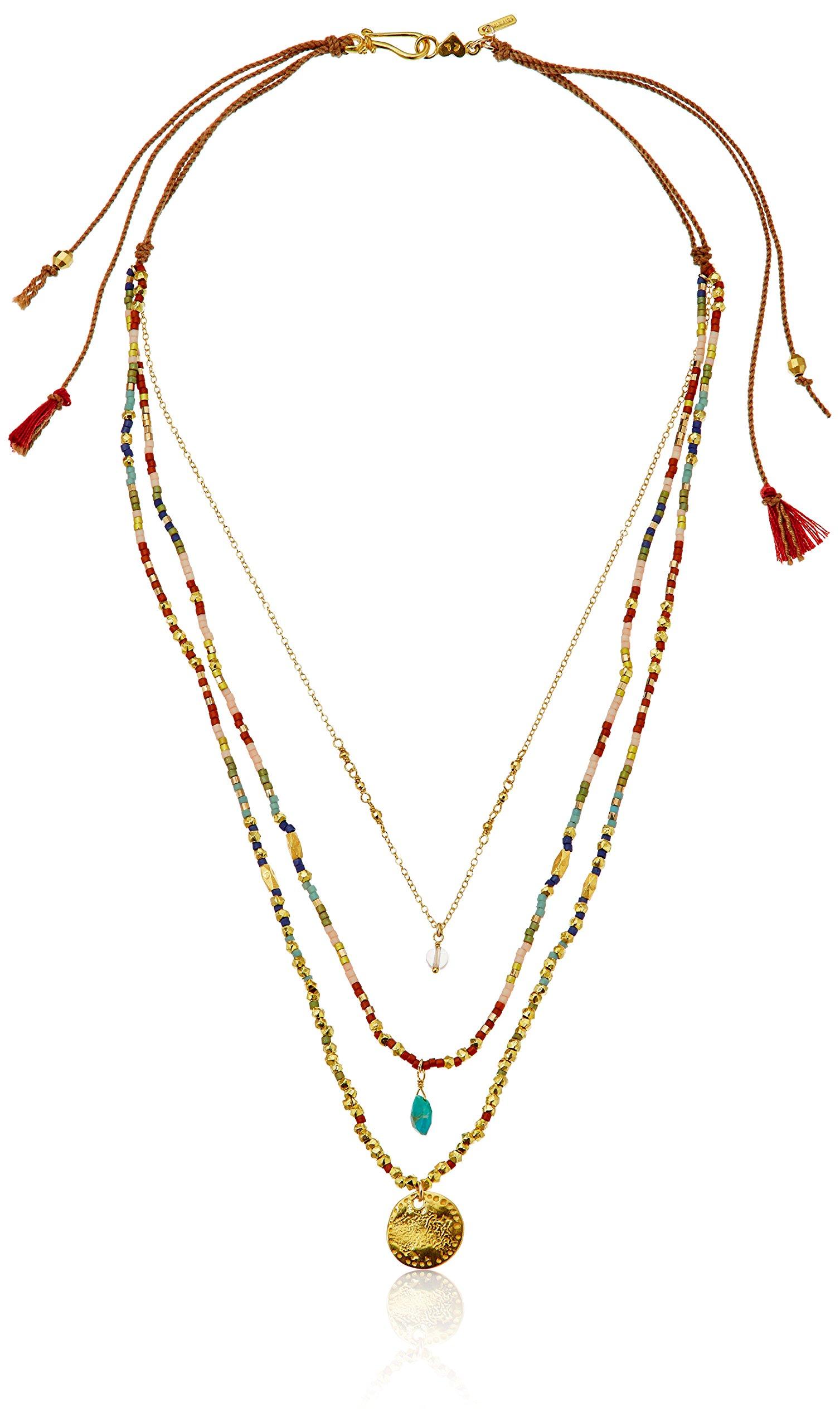 Chan Luu Multi-Beaded Strand Necklace, 17''