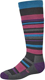 """product image for point6 Girl's Rumble Medium""""Over The Calf"""" Socks"""