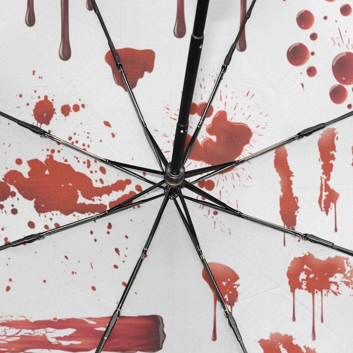 Parapluie pliant parasol Super Léger Solide Anti-éclaboussures anti-UV effet tissu