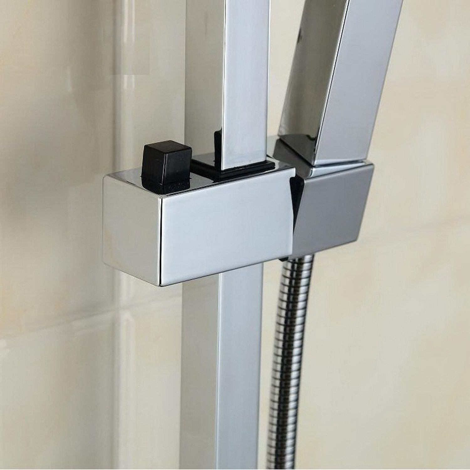 Lightinthebox Single Handle Wall Mount Rainfall Shower Faucet Set ...