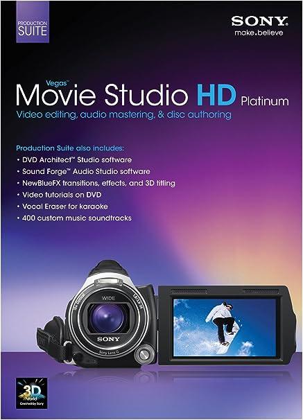 Oem Sony Vegas Movie Studio Hd 11