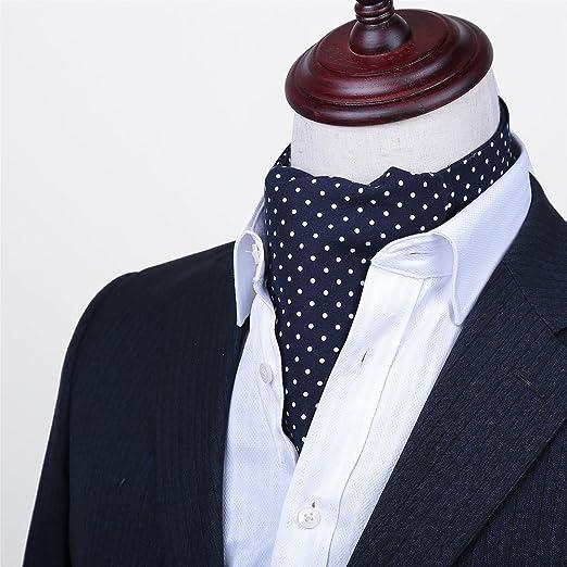 LIANGJUN Corbata de Seda para Hombre, Elegante, para Camisa ...