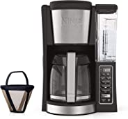 Ninja 12-Cup Programmable Coffee Maker with Classic and Rich Brews, 60 oz. Water Reservoir, and Thermal Flavor Extraction (CE