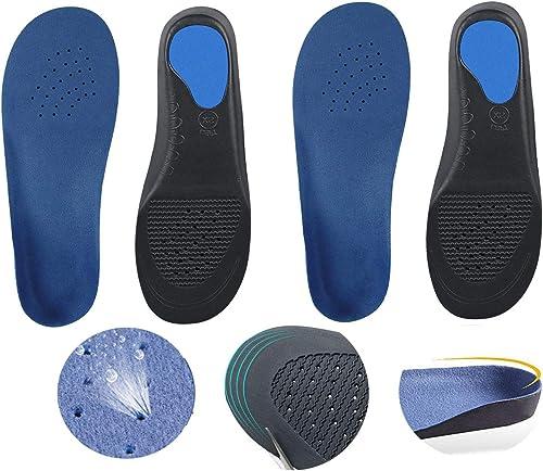 インソール 衝撃吸収 中敷き 靴 消臭 通気 サイズ調整可能 男女兼用 2足(4枚入)