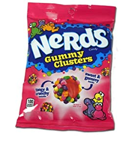 Nerds Gummy Clusters - Delicious Tangy and Crunchy Sweet and Gummi Flavor (32 Ounce)