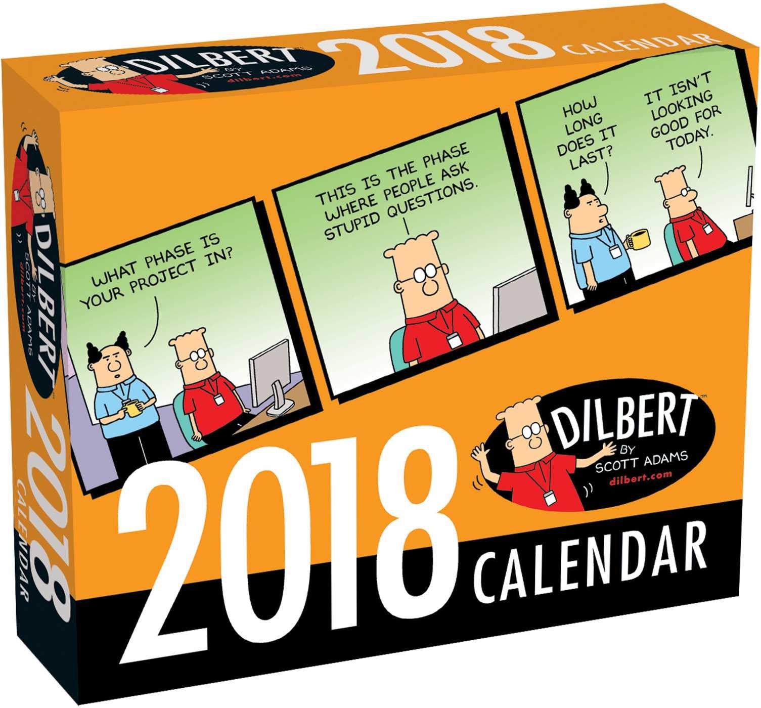 Dilbert 2018 Day-to-Day Calendar pdf