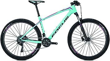 Focus Raven Elite 27 Donna - Bicicleta de montaña para mujer (20 g, 27