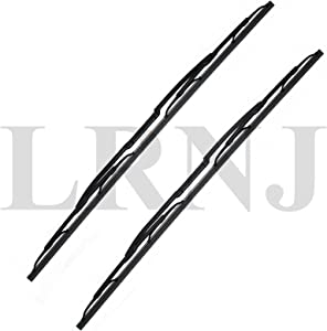 BEARMACH WIPER BLADE SET OF 2 COMPATIBLE WITH LAND ROVER RANGE ROVER L322 FULL SIZE MODEL 2003-2010 Part # DKC000040