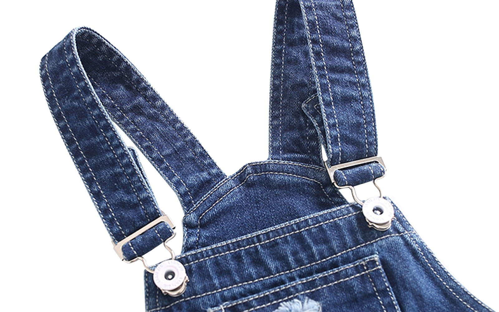 Ding Dong Baby Toddler Boy Girl Denim Overalls(Style 1,5T) by Ding Dong (Image #4)
