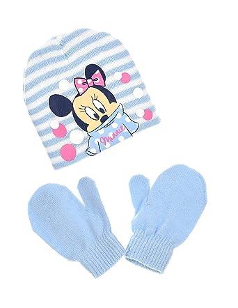 1e149192132 Minnie Bonnet et moufles bébé enfant fille 3 coloris de 9mois à 3ans   Amazon.fr  Vêtements et accessoires
