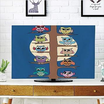 Cubierta de polvo para televisor LCD, dormitorio infantil, diseño ...