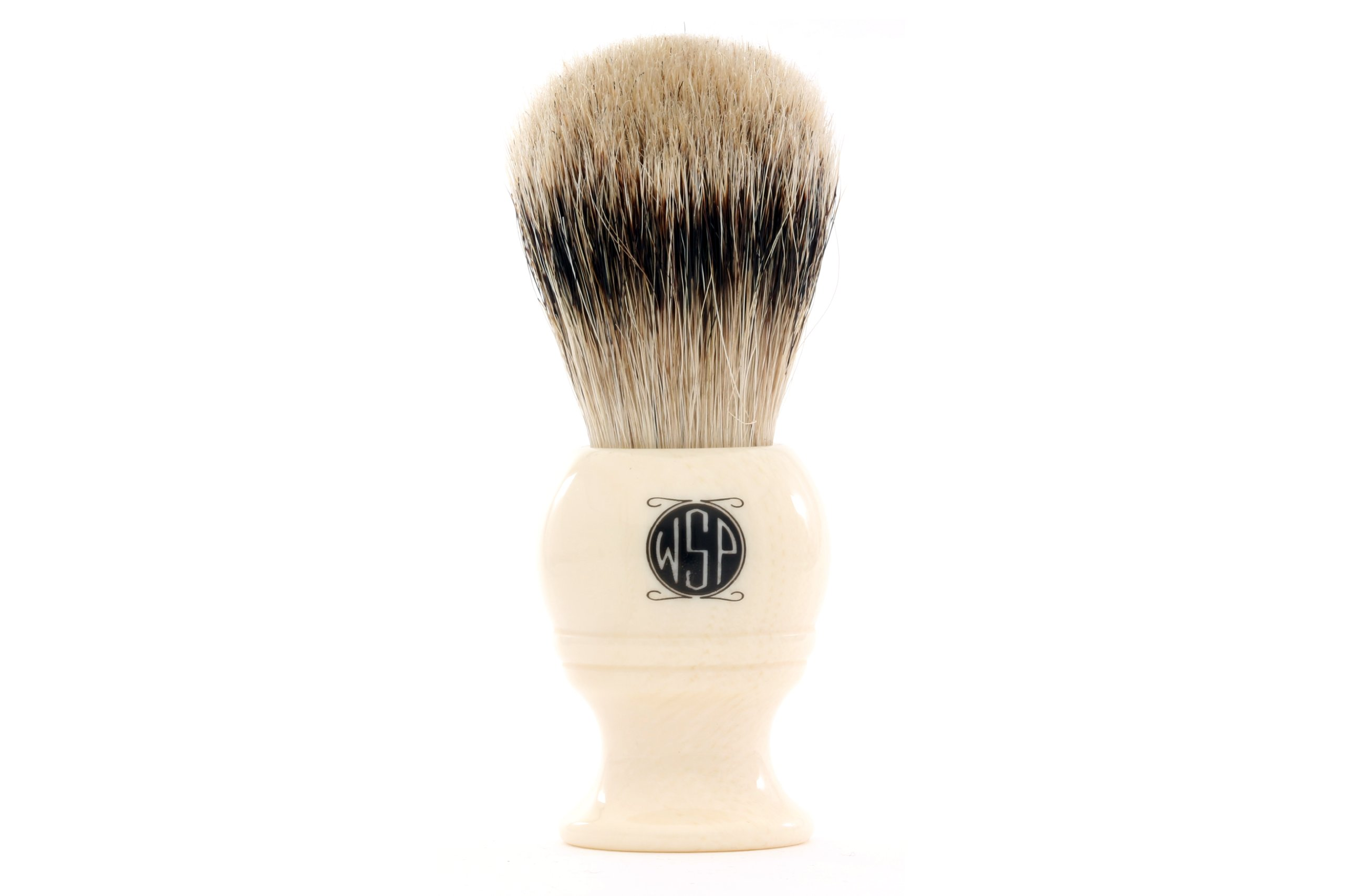 High Density Premium Silvertip Badger Shaving Brush WSP''Monarch'' by Wet Shaving Products
