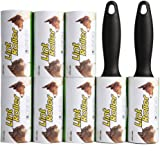 EXPAWLORER Pet Lint Roller, Pet Hair Remover - 560 Sheets for Lint & Pet Hair Removal - 2 Pet Lint Rollers with Easy to Remove Sheets
