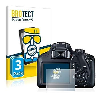BROTECT Protector Pantalla Cristal Mate Compatible con Canon EOS ...