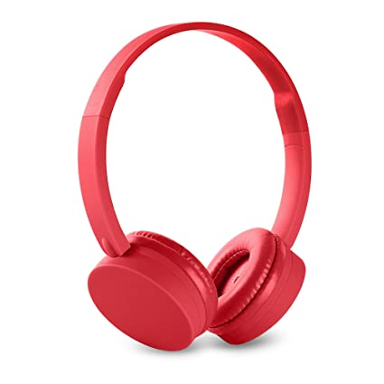 Energy Sistem 42483 - Auriculares con Bluetooth, color coral
