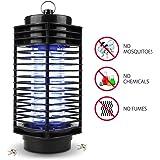 Lampada Anti Zanzare NuoYo 11.5 ×26 cm Nero Photocatalyst 3W/110V Lampada della Zanzara Migliori Lampada Sicuro ed Efficace Anti-zanzara /Anti-insetti