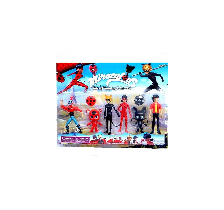 Set de Muñecos Ladybug Prodigiosa: Amazon.es: Juguetes y juegos