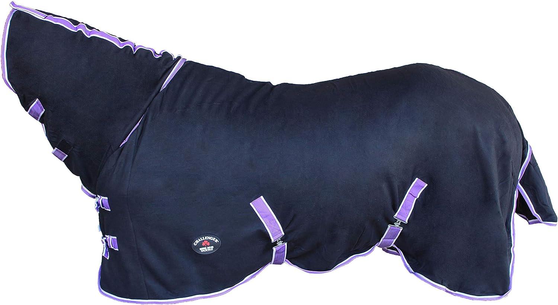 Challenger Horsewear 66 Horse Sheet Polar Fleece Cooler Exercise Blanket Wicks Moisture 4391N
