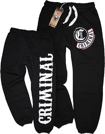 Mafia & Crime MC Criminal 465 - Pantalones de chándal (Talla M ...