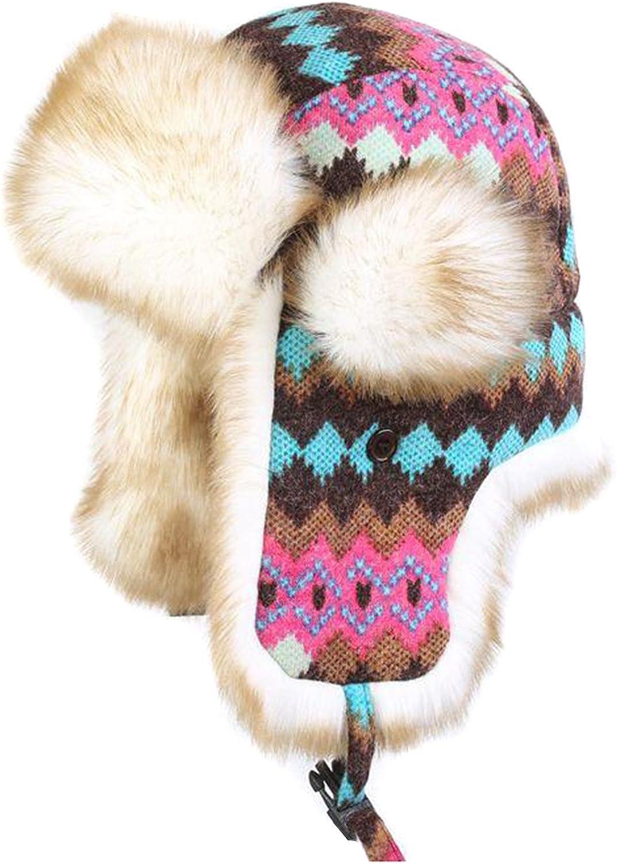 Winter Knit Aviator Hat...