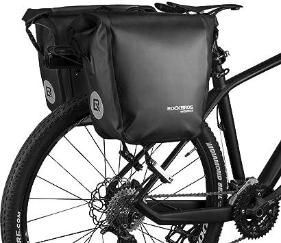 RockBros Bicicleta Alforja bicicleta bolsa de maletero alforja ...